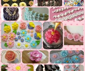 Chocolate Cake Toppers & Cake Icing Flowers courses in Pune