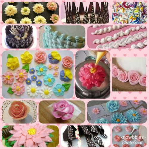 Chocolate Cake Toppers & Cake Icing Flowers