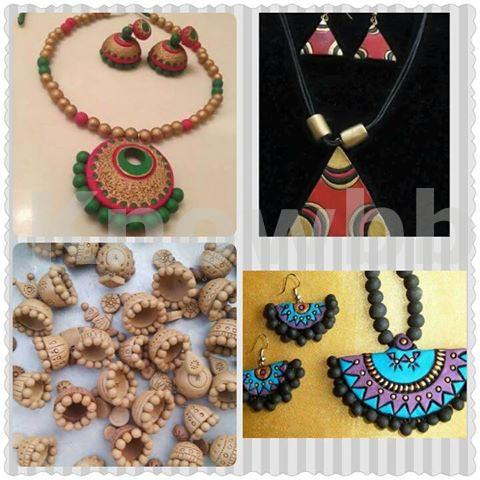 Teracota Jewellery Making Course Classes in Pune