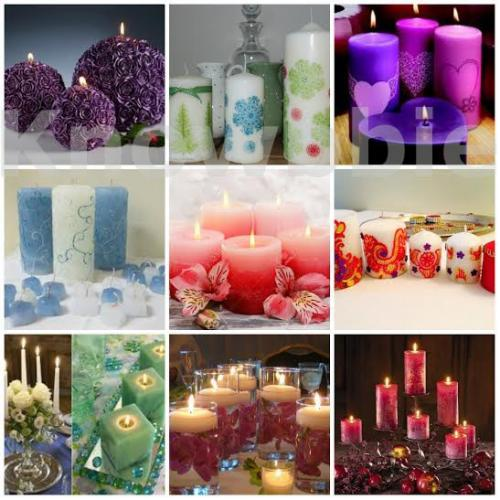 Designer Candle Making