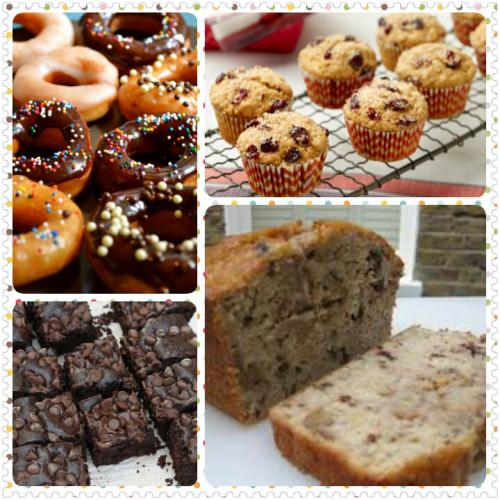 Tea time Cakes, Muffins and Donuts
