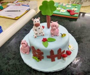 Fondant Cakes Making classes in Pune