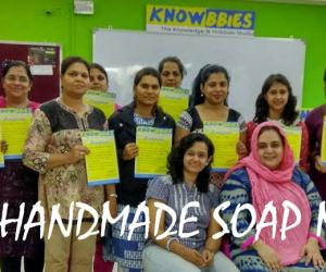 Handmade Soap Making classes in Pune