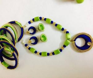 Silk Thread Jewellery Making classes in Pune