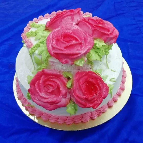 Online Course for Double Decker Cake. 2 tier cake online course.