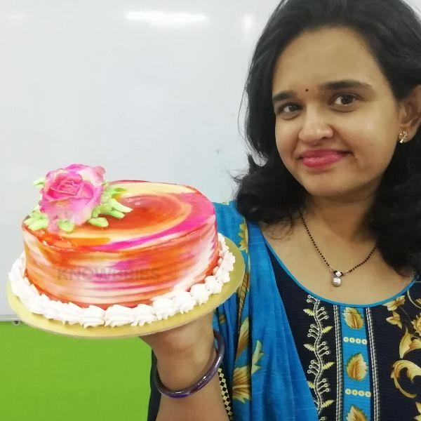 Learn Online Cake Baking Cake Decoration