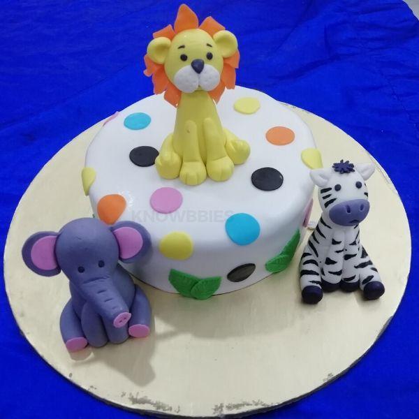 Online Course For Fondant Cakes Decoration. Fondant online course.