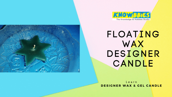 Floating Wax Candle Designer Candle Making Online Course in Hindi wax gel candles