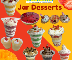 Jar Dessert Making Video Course (Pre-Recorded)
