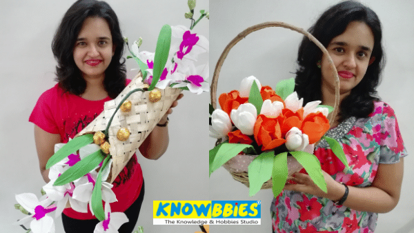 Chocolate Bouquet making online course Diwali Business