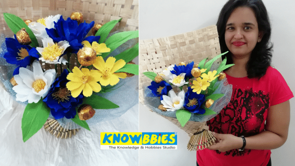 Chocolate Bouquet making online course Basic Advance