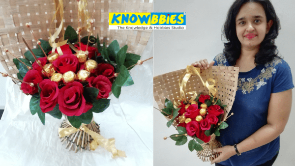 Chocolate Bouquet making online course Tutorial