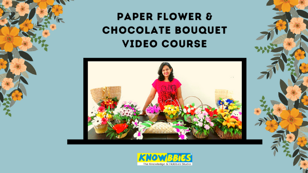 Chocolate Bouquet making online course Hindi
