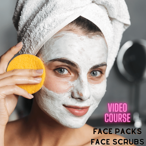 Face Packs + Face Scrubs Video Course (Pre-Recorded) Classes in Pune
