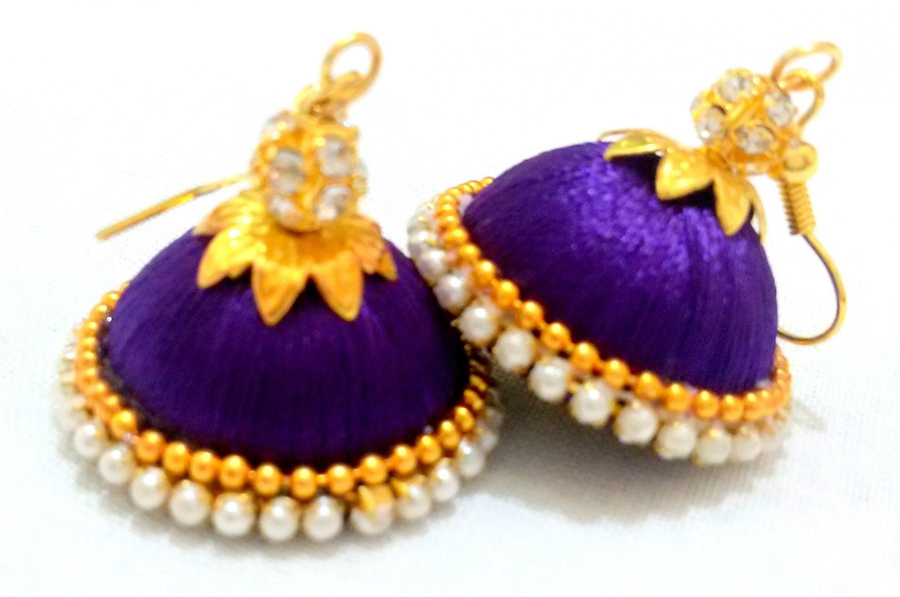 Silkthread Jewellery Order Customized Silkthread Jewellery in Pune. Buy Silkthread Jewellery For GIfting in PUne.
